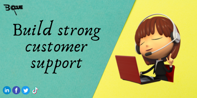 Build strong customer support